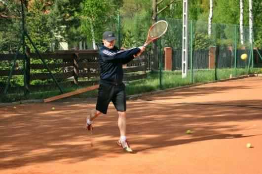 5 godzin tenisa dziennie